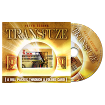 Transfuze (DVD and Gimmick) by Peter Eggink
