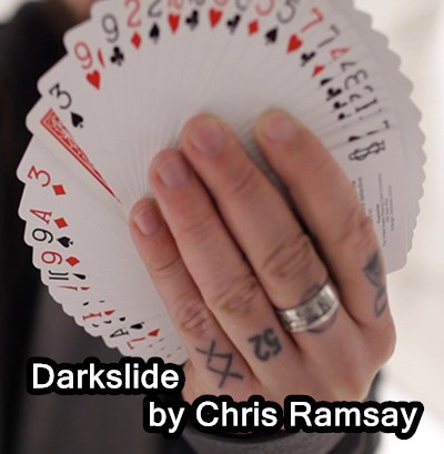 Darkslide (Gimmick and Online Instructions) by Chris Ramsay