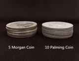 Palming Coins (Morgan Version, 20 Pieces)
