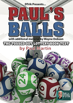 Paul's Balls (Gimmick and Online Instructions) by Wayne Dobson and Paul Martin