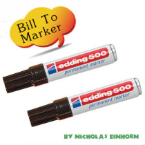 Bill To Marker by Nicholas Einhorn