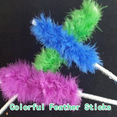 Colorful Feather Sticks (Medium)
