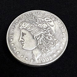 Super Morgan Dollar (3.8cm, Brass)