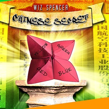 * Chinese Secret (Gimmick and Online Instructions) by Wiz Spencer