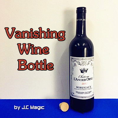 Vanishing Wine Bottle by J.C Magic