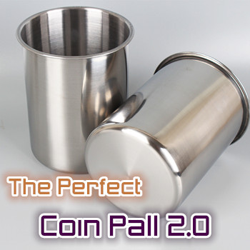 The Perfect Coin Pail 2.0 + Palming Coins (Half Dollar)