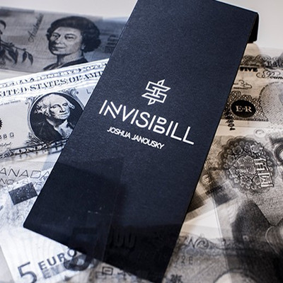 InvisiBill (Gimmick and Online Instruction) by Josh Janousky