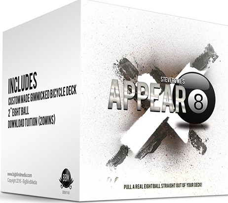 * Appear-8 (Gimmicks and Online Instructions) by Steve Rowe