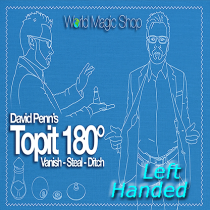 Topit 180 Left Handed (Gimmick and Online Instructions) by David Penn