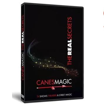 Canes MAGIC - The Real Secrets DVD by Fabien Solaz