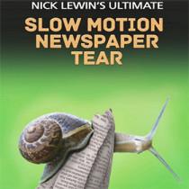 Nick Lewin Ultimate Slow Motion Newspaper Tear - DVD
