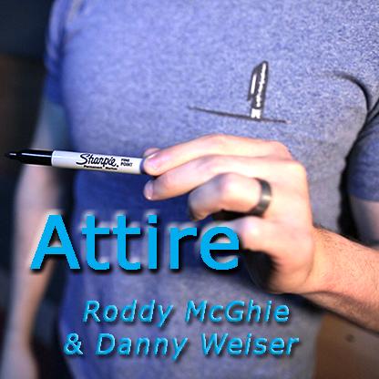 Attire by Roddy McGhie and Danny Weiser