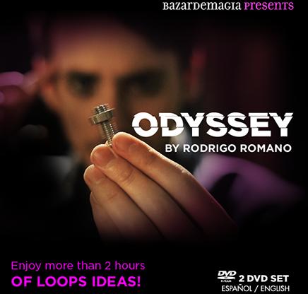Odyssey by Rodrigo Romano and Bazar de Magia (2 DVD Set)