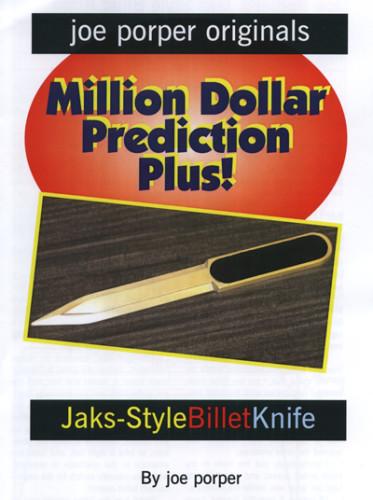 Billet Knife Jaks-Style by Joe Porper