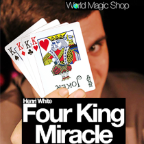 * Four King Miracle (Gimmick and Online Instructions) by Henri White