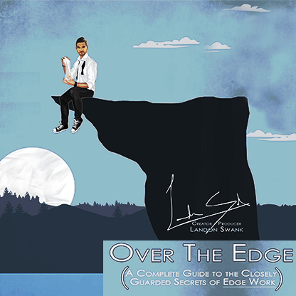 * Over The Edge (Gimmick and Cards Included) by Landon Swank