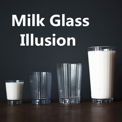 Milk Glass Illusion
