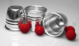 Cups and Balls With Chop Cup Aluminium - Combo
