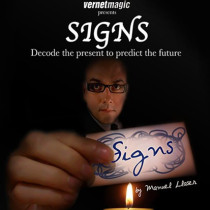 SIGNS (Gimmicks and Online Instructions) by Vernet