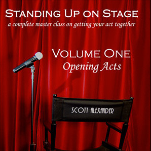 Standing Up on Stage Volume 1 Opening Acts (DVD) by Scott Alexander