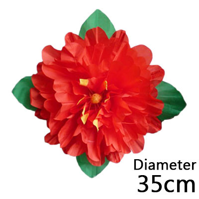 Peony Production (35cm, Red)