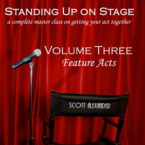 Standing Up on Stage Volume 3 Feature Acts (DVD) by Scott Alexander