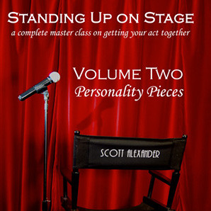 Standing Up on Stage Volume 2 Personality Pieces (DVD) by Scott Alexander