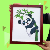 Panda Comes Out of the Frame