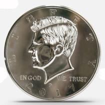 Super Jumbo Half Dollar (25cm, Plastics)