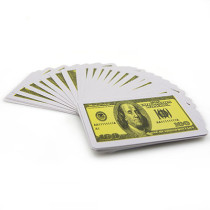 Ultrathin Plastic Playing Cards (Dollar)
