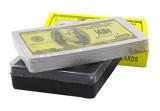 Ultrathin Plastic Playing Cards (Dollar)