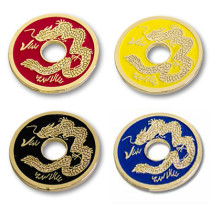 Chinese Coin - Half Dollar Size (4 Colors)