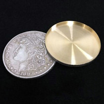 Expanded Shell Super Morgan Dollar (Brass)