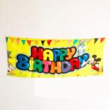 Happy Birthday Streamer for Vanishing Cane