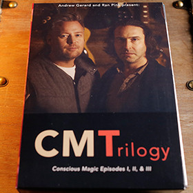 Conscious Magic Trilogy (3 DVD Set) by Ran Pink and Andrew Gerard