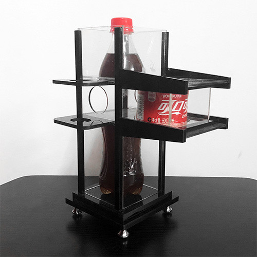 Zig Zag Coca Cola Bottle (Collector's Edition)