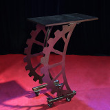 Industrial Style Magician Table