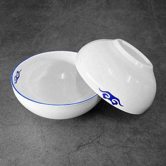 Water from Above Bowls (White)