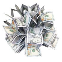 Spring Bills (US Dollar/Japanese Yen/Euro, Large)