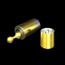 Vanishing Cane (Metal, Gold&Silver, 120cm)