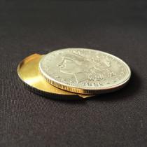 Slippery Expanded Shell (Morgan Dollar, Brass)