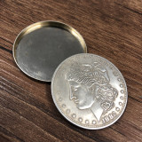 Shimmed Expanded Shell (Morgan Dollar, Brass)