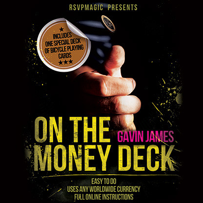 * On the Money (Gimmick and Online Instructions) by Gavin James