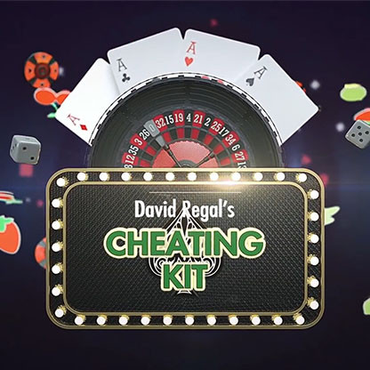 * CHEATING KIT (Gimmicks and Online Instructions) by David Regal