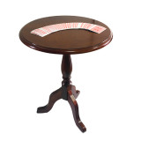 Deluxe Round Wooden Magic Table