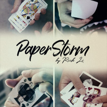 Paperstorm (DVD and Gimmicks) by Rich Li