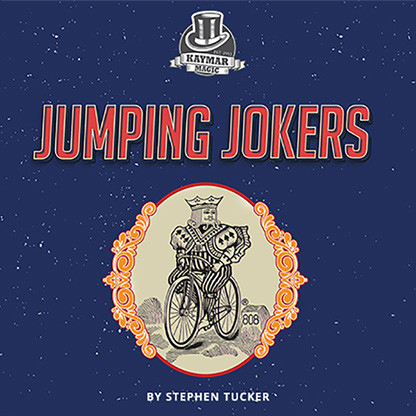 Jumping Jokers (gimmick and online instructions) by Stephen Tucker and Kaymar Magic