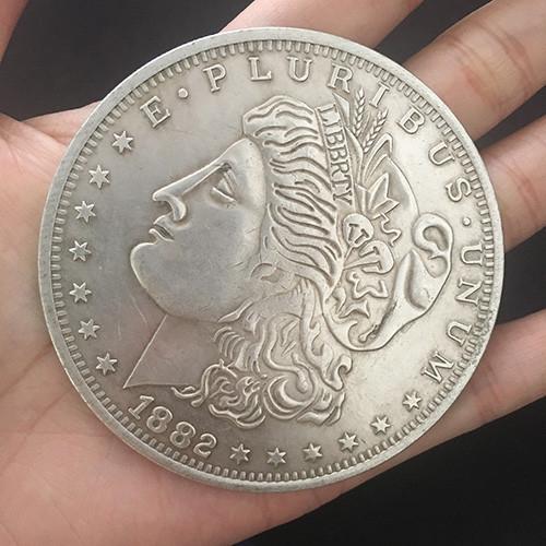 Jumbo Morgan Dollar (7cm)