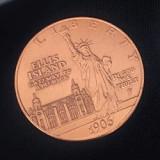 Statue of Liberty Ancient Coin (Morgan Dollar Size)