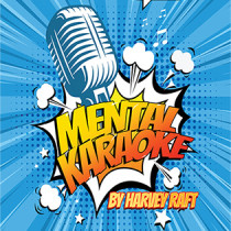 * Vortex Magic Presents Mental Karaoke (Gimmicks and Online Instructions) by Harvey Raft